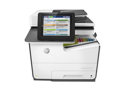 HP PageWide 586dn, MFP
