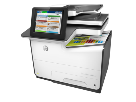 HP PageWide 586f, MFP